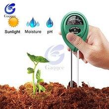 3 в 1 светильник для почвенной воды, измеритель влажности, тест er, цифровой анализатор, тестовый детектор для садовых растений, цветов, гидропоники, садовый инструмент
