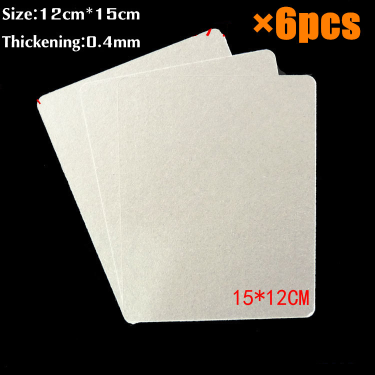 6pcs 12 15cm Spare Parts Thickening Mica Plates Microwave Ovens Sheets For Galanz Midea Panasonic Lg Etc Magnetron Cap Top Deal May 2019