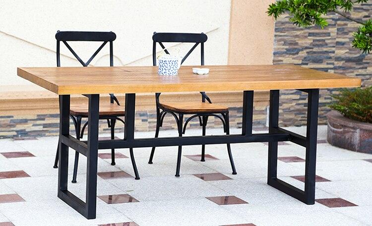 tienda online retro americana de tablas de madera, hierro forjado