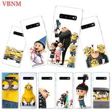 Minions Gru Agnes Popular Phone Case for Samsung Galaxy S10 Plus S10E A50 A70 A30 A10 A20E M40 M30 M20 M10 A20 A80 A40 A60 Cover чехол для для мобильных телефонов 6