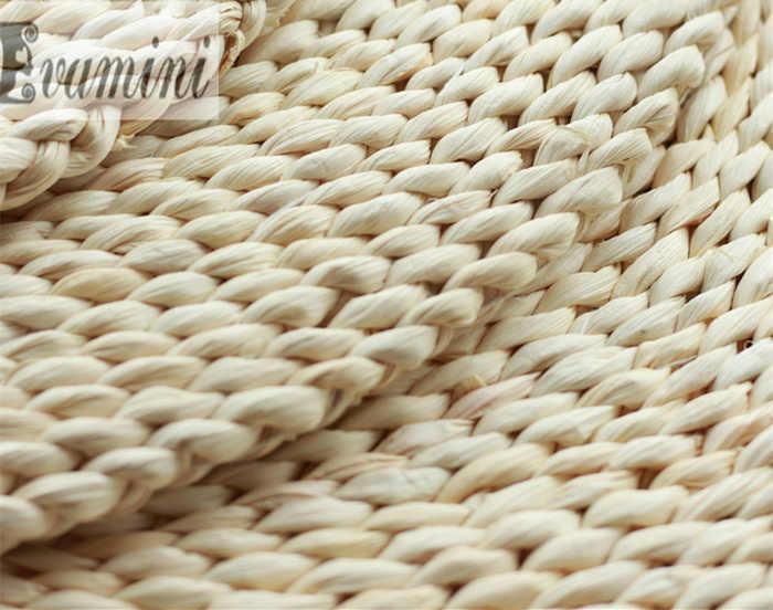 50*50 см татами футон подушка для медитации утолщение Yoga круг кукурузного початка с Соломенной Плетеной тесьмой коврик японский стиль