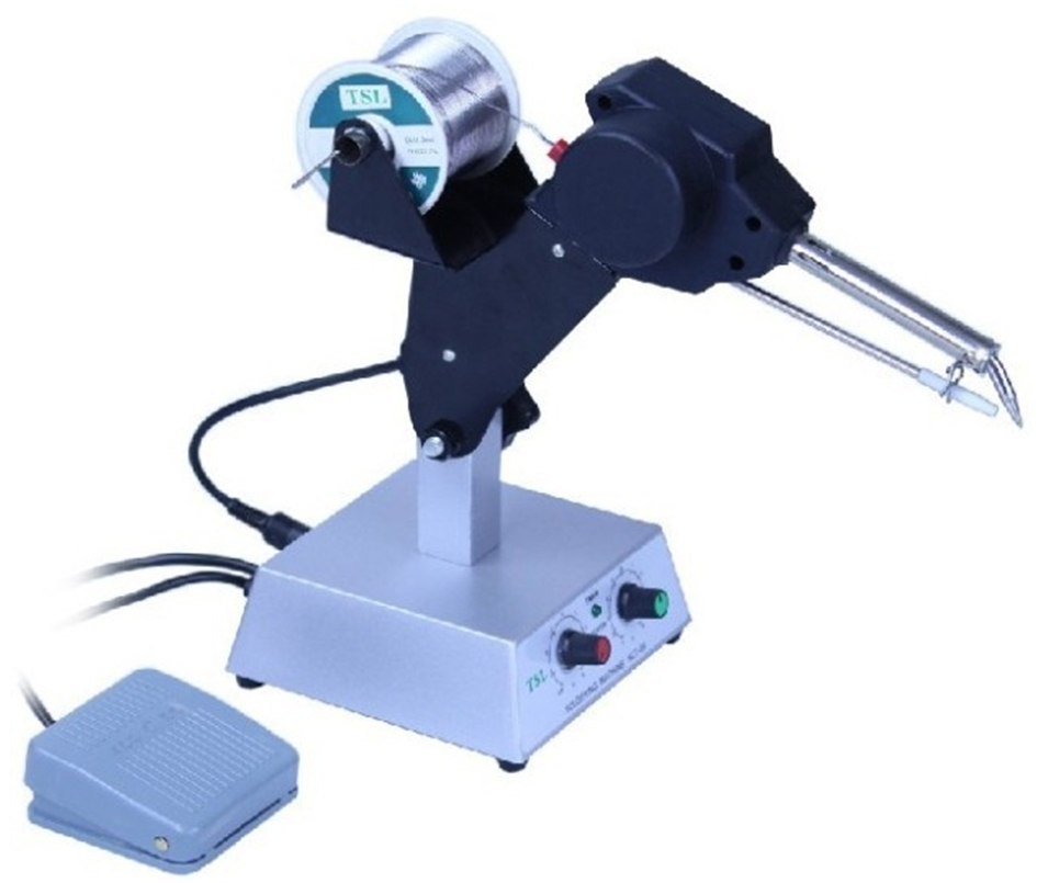 Automatic tin feeding machine constant temperature soldering iron Teclast iron HCT-80 multi-function foot soldering machine automatic tin feeding machine constant temperature soldering iron teclast multi function foot soldering machine f3100a