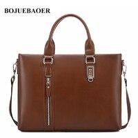 2017 New Men S Messenger Bags Men Pu Leather Handbag Brand Luxury High Quality Laptop Briefcase