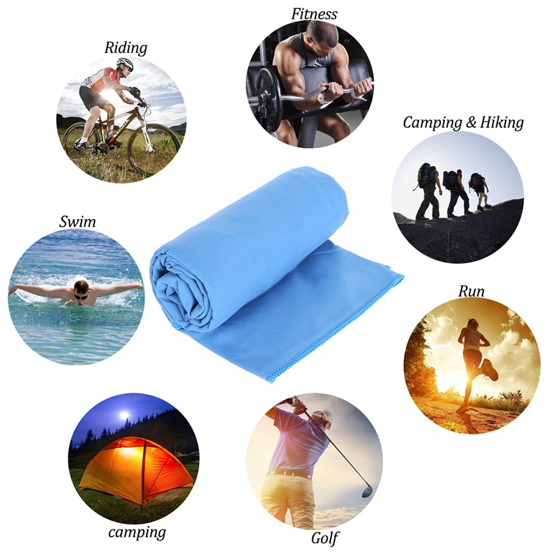 Office & School Supplies 100% True Quick Dry Towels For Swimming Sports Travel Lightweight Absorbent Pack For Gym Camping Outdoor Travel Kit