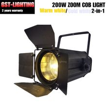 200w warm white cold white cob zoom led par Beam Angle 5 Degree to 50 Degree Stage Disco Light DMX Par 64(China)