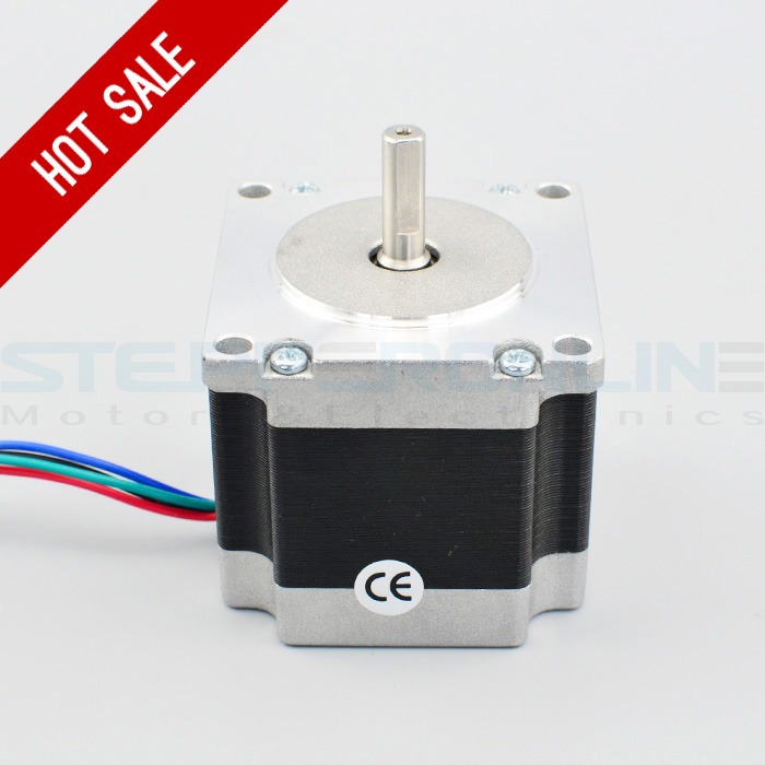 Nema 23 Stepper Motor 1 26Nm 179oz in 2 8A 4 wires 6 35mm Shaft DIY