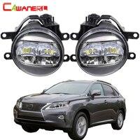 Cawanerl Car H11 Fog Light Kit 4000LM Daytime Running Light DRL White 12V For Lexus RX350 RX450h 2010 2011 2012 2013
