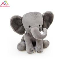 sermoido 9Plush Toy Humphrey Elephant Gray PP Cotton Stuffed Cartoon Animals Dress up Toys Birthday Gift For Child DBP196