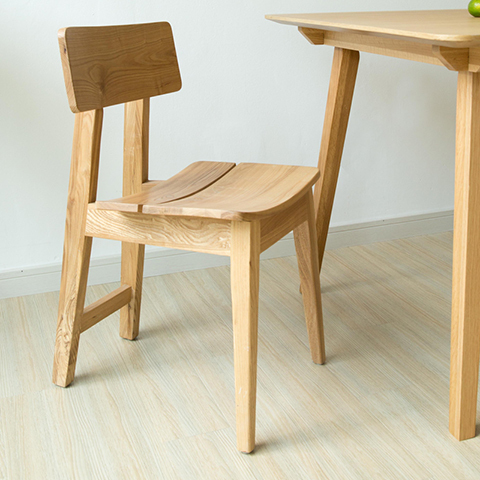 American Country Wood Dining Chairs Natural Environmental Ash Chair Ikea Nordic Casual Cafe