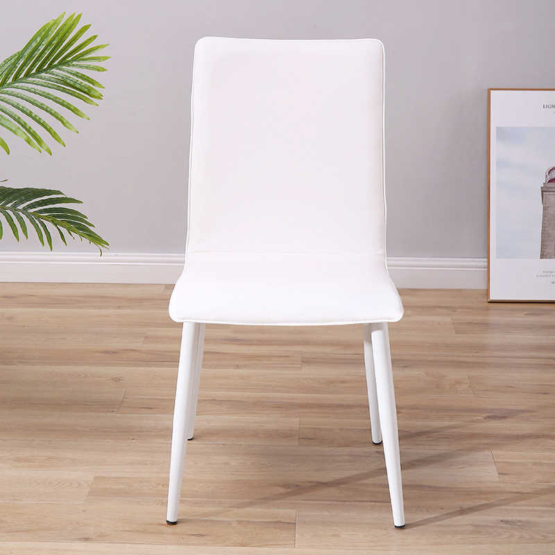 Cadeira do restaurante cadeira de jantar de madeira moderno mini malist artes ferro poltrona de lazer em casa mesa de jantar simples