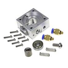 DIY Reprap бульдог цельнометаллический экструдер для 1,75 мм совместимый J-head MK8 экструдер удаленный, близкий для 3d принтеров частей