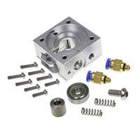 DIY Reprap Bulldog All Metal Extruder For 1 75mm Compatible J Head MK8 Extruder Remote Proximity