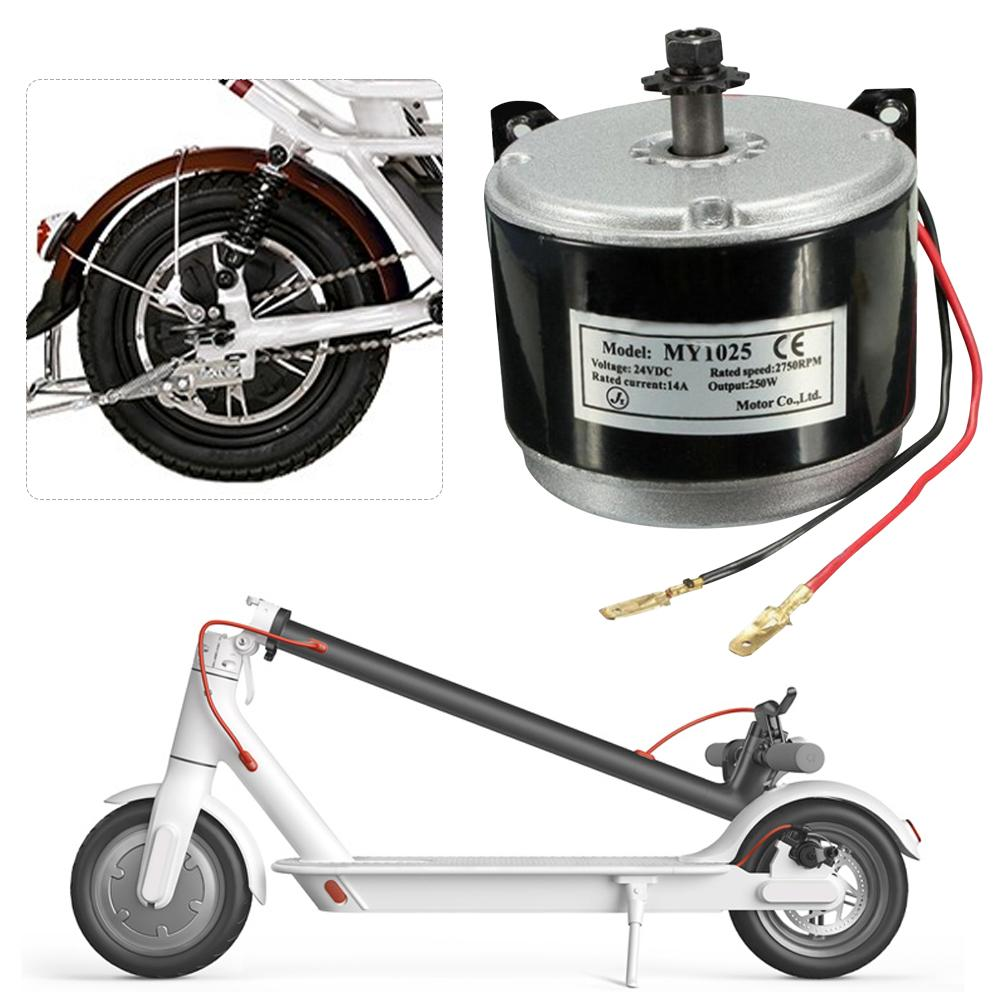 1Set Dolphin Electric Motor 24v 250w Vehicles Brushed DC Motor 36V 13.7A Reverse Twist Throttle, Power Ignition Lock Scooter
