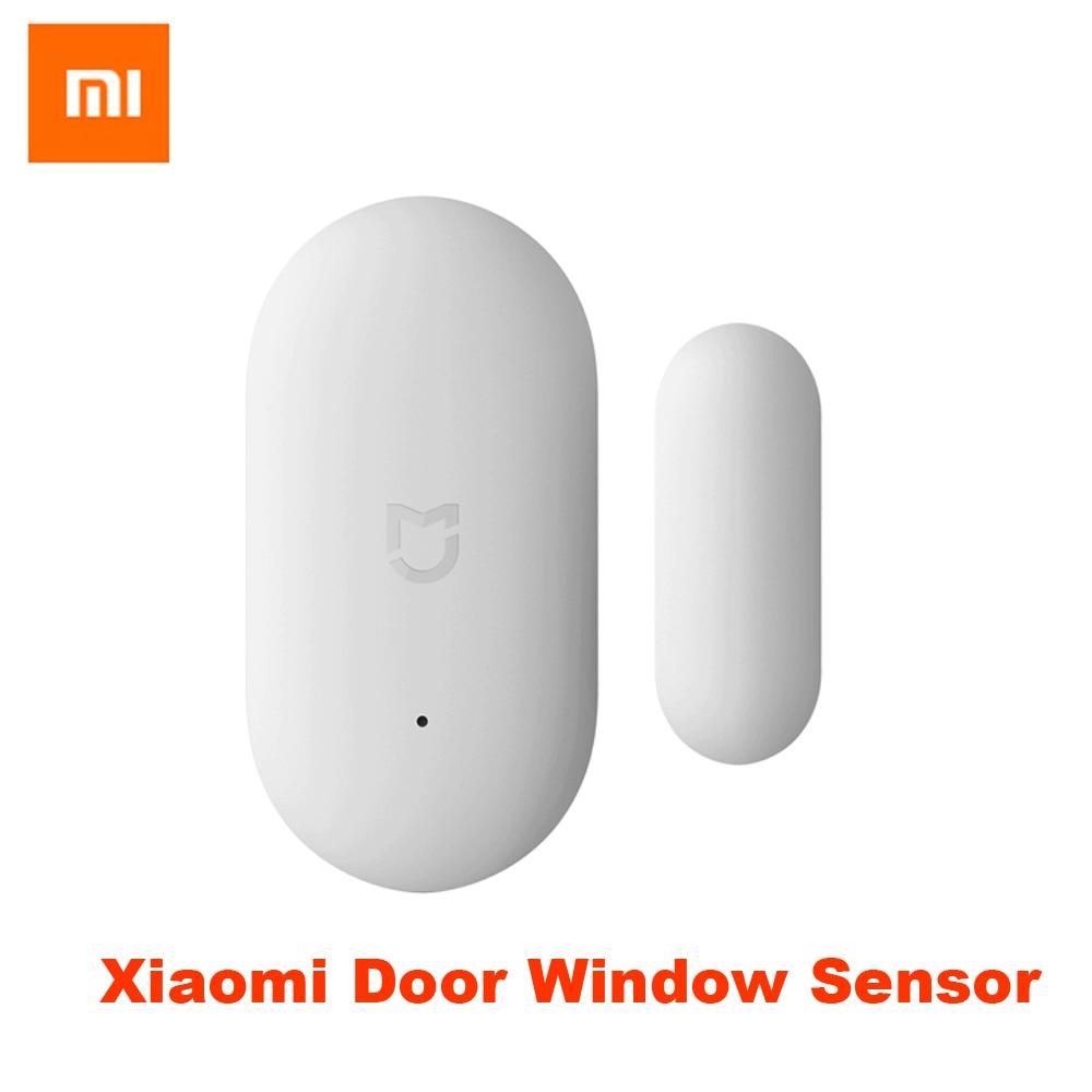 купить Xiaomi Door Window Sensor Pocket Size xiaomi Smart Home Kits Alarm System work with Gateway mijia mi home app Freeshipping онлайн