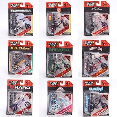 цена на Hot sale Alloy mini Finger Bikes BMX toys Bikes Model mini-finger-bmx with 2 Tools For Children gifts