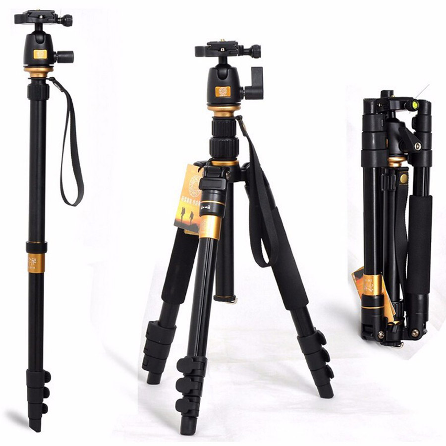 New Portable 10KG bear aluminium monopod stand professional camera tripods for slr video clip tripodes para reflex dslr tripod america country led pendant light fixtures in style loft industrial lamp for bar balcony handlampen lamparas colgantes