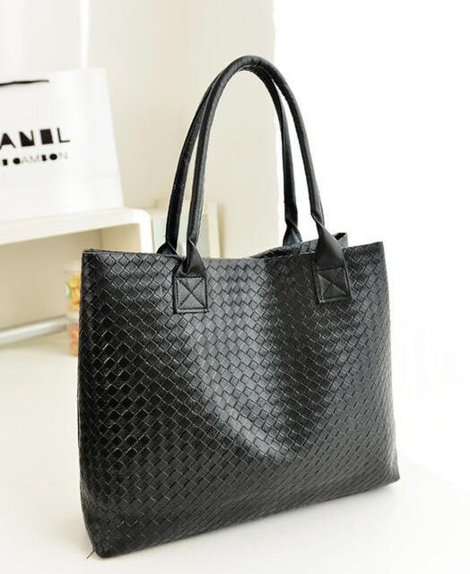 Emarald 2018 New Women S Bag Pu Woven Handbags Fashion Single Shoulder Mother Ping