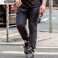 Упругие Талии Штаны Большой Размер Специальные Мешковатые Спортивные Штаны Плюс Большой Одежда Мужской Hip Hop Бегунов Носил Негабаритных Брюки