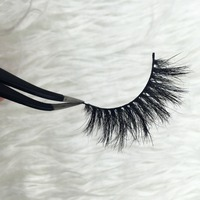 Free Shipping Fashion Style Luxury 100 Real Mink Strip Lashes Lilly Vegas Lashes Natural Long Soft
