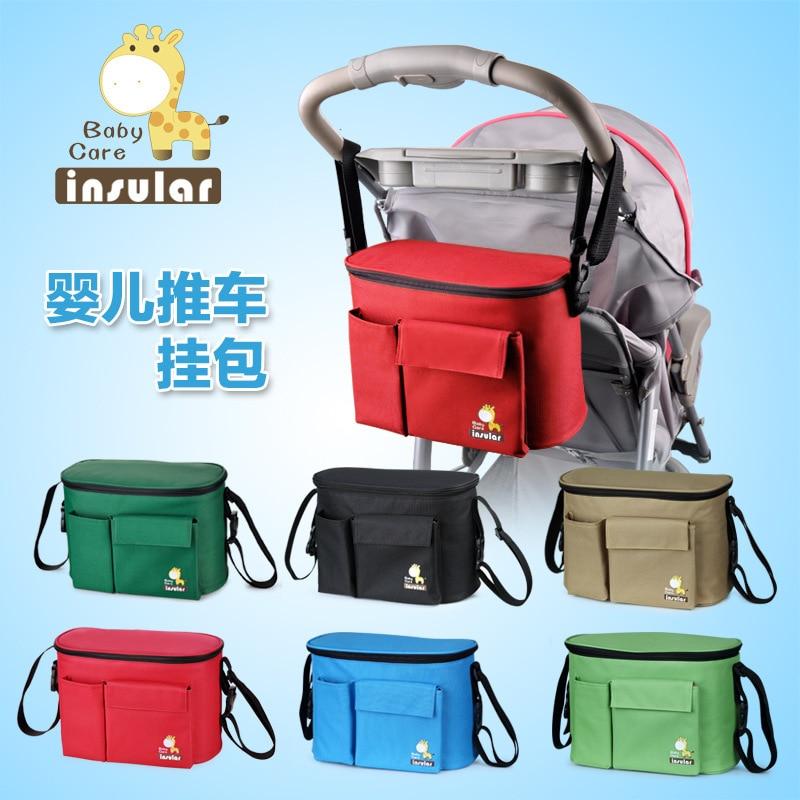 Large Capacity Waterproof Backpack For Mom On The Stroller Diaper Bag Organizer Mother Handbag Fashion Mommy Crossbody Bag