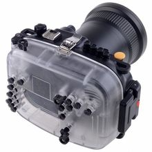 Meikon 60m 190ft Waterproof Underwater Camera Housing Case for Canon 5D Mark III meikon underwater waterproof housing case for canon eos 650d 700d