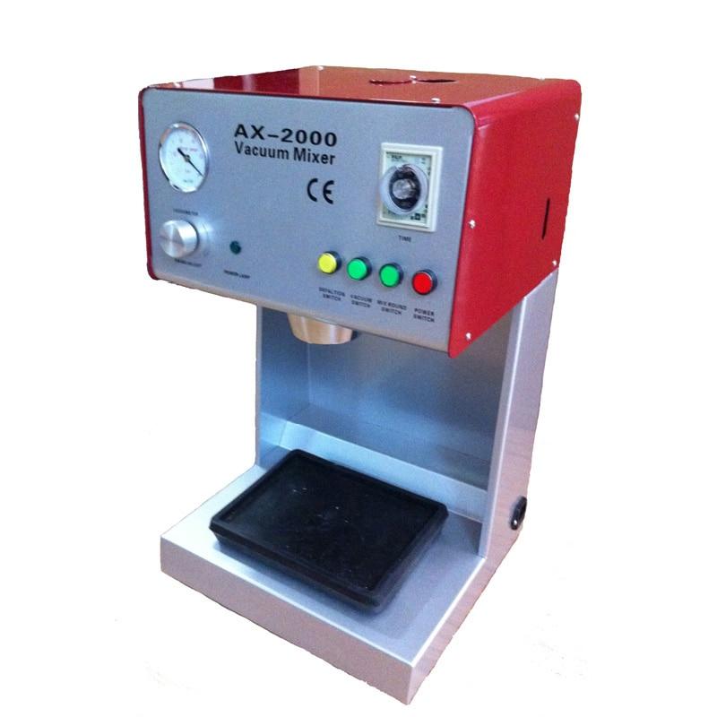 Dental lab equipment Plaster dental mixer with one mixing beaker Dental Vacuum mixer AX 2000B