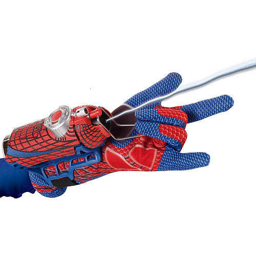 Excellent Spider-Man Launcher, Children cos props 2-in-1 spinneret spider silk toys