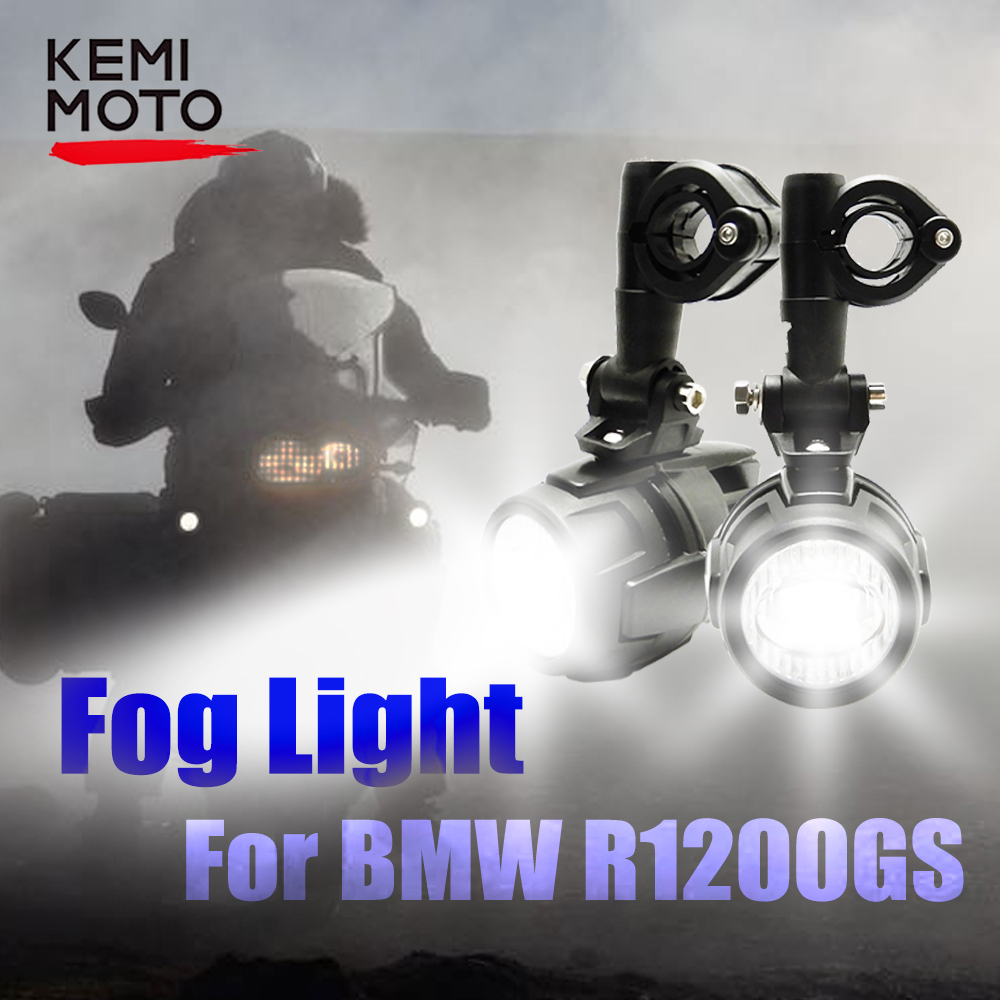 Fog Light LED for BMW R1200GS LC Adventure with Light Switch Auxiliary LED Fog Light for BMW GS 1200 GS Adventure 2004 2012 2018