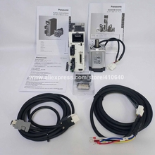 GENUINE Servo Motor A6 400W MHMF042L1U2M And Servo Drive MBDLN25SE SG with 3 Meter Cable and All Connectors Delivery Together цена