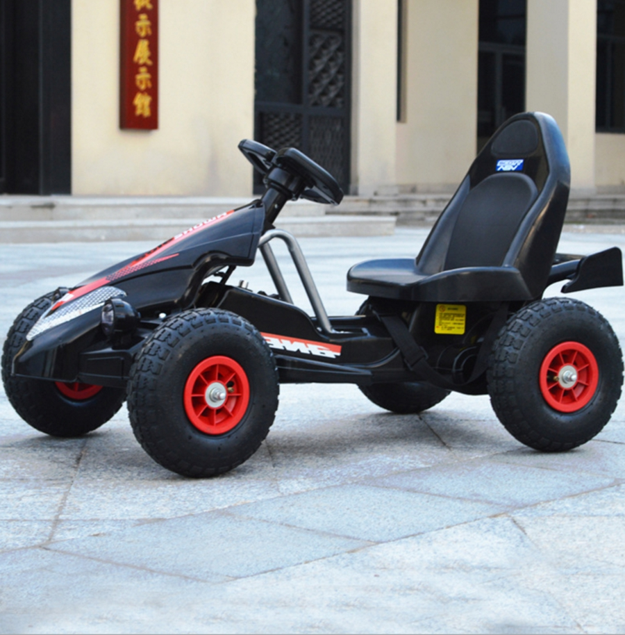 Electric Karting Children Kid Tricycle Electric Scooter Remote Control Adjustable with Flashing Light Four Wheel tz yz 03 the old man electric tricycle scooter disabled scooter