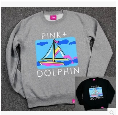 9abea4a712f3 pink dolphin hip hop graphic crewneck sweatshirts brand men fashion citi  trends clothes taylor wang golf