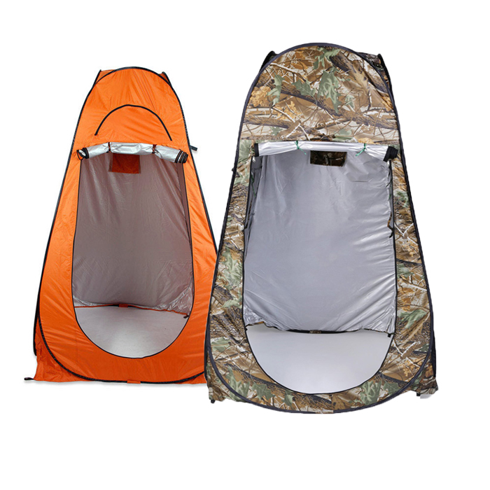 Orange/Green 1-2 persons Portable Tent Outdoor Folding Camping Beach Toilet Shower Dressing Changing Room Outdoor ShelterOrange/Green 1-2 persons Portable Tent Outdoor Folding Camping Beach Toilet Shower Dressing Changing Room Outdoor Shelter