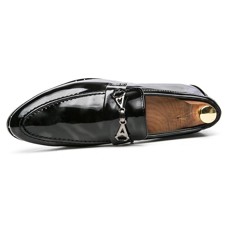 ZENVBNV 2018 luksusmärgiga mehed kingad Inglismaa Trend vaba aja - Meeste jalatsid - Foto 4
