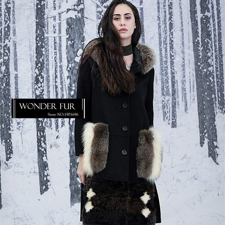 Original Design Wonder Fur Dress Golden Island Fox Fur -6594