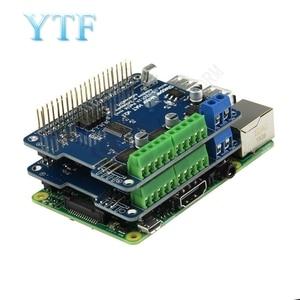 Image 3 - NEW! Stepper Motor B + Robot Expansion Board Servo HAT for Raspberry Pi 3 PI 2  Mini Kit