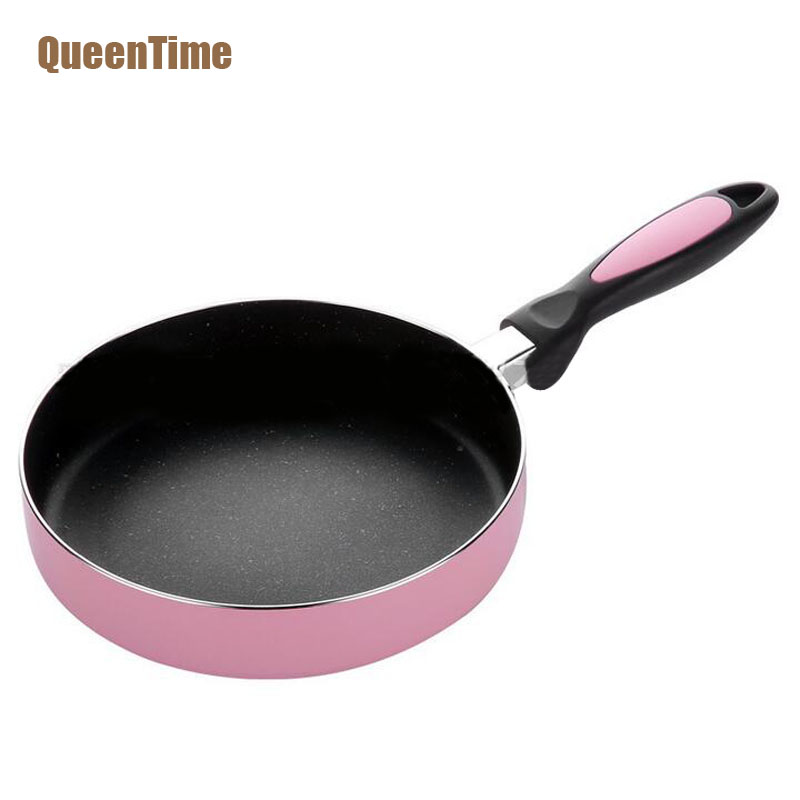 QueenTime Japanese Style 8 Inch Frying Pan Multifunctional Non-Stick Cooking Pan Creative Fry Egg Steak Pan Cooking Accessories