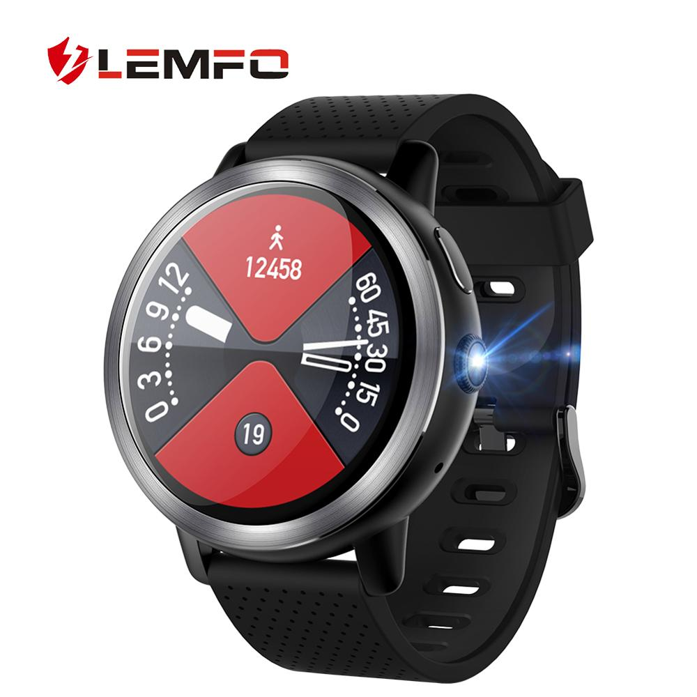 LEMFO LEM8 Smart Watch Android 7.1 LTE 4G Sim WIFI 1.39 Inch 2MP Camera GPS Heart Rate New Year Gifts Smartwatch for Men Women|Smart Watches| |  - title=