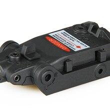 PPT Тактический красный лазерный прицел красная лазерная указка Aimer для охоты стрельба HS20-0038