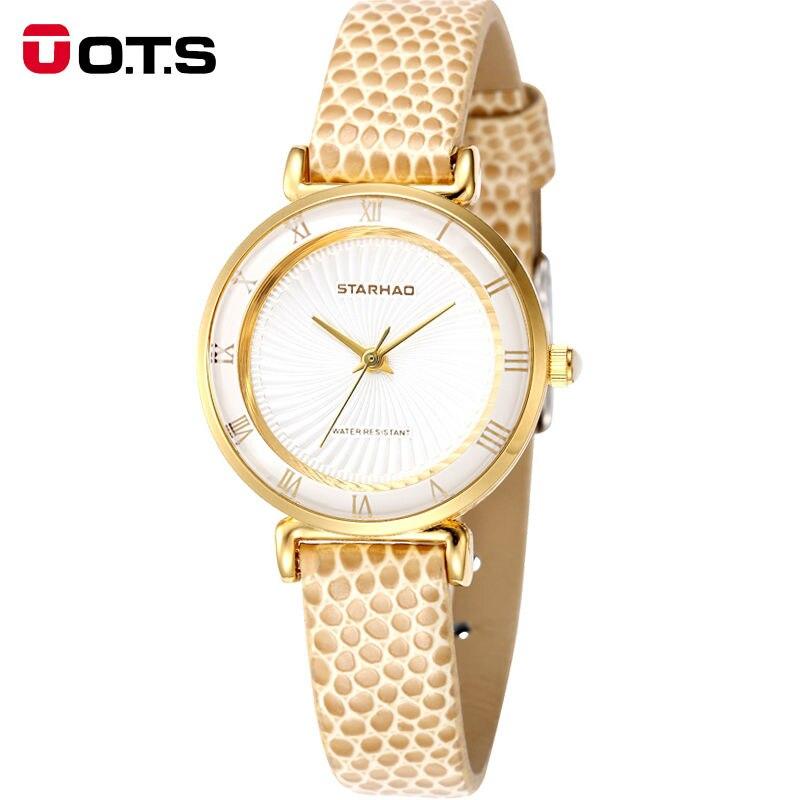 OTS women Watches font b top b font famous Brand font b Luxury b font Casual