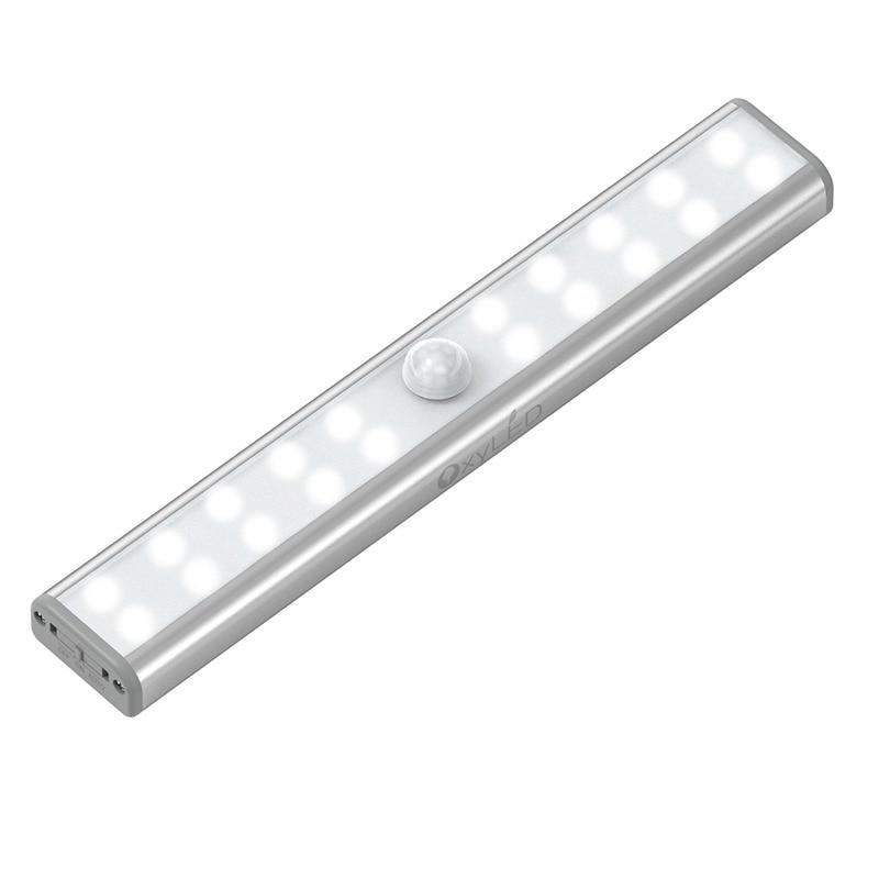 USB Rechargeable LED Motion Sensor Night Light for Closet 20 LED Cabinet  Wireless Night Lighting Motion Activated LampUSB Rechargeable LED Motion Sensor Night Light for Closet 20 LED Cabinet  Wireless Night Lighting Motion Activated Lamp