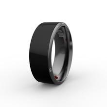 Jakcom r3 programa bloqueio nfc inteligente anel à prova d' água wearable eletrônica cnc metal mini anel mágico para iphone samsung smartphone