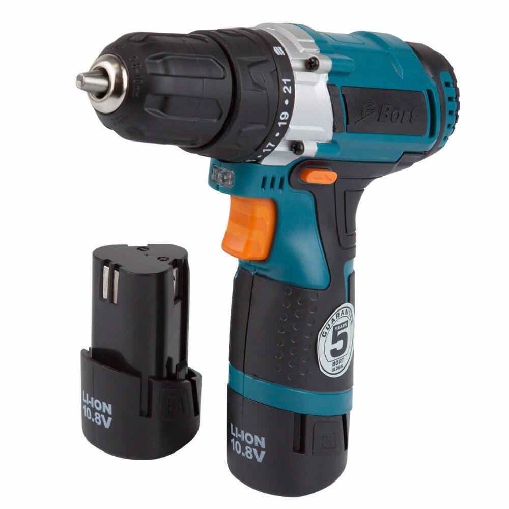 Cordless drill Bort BAB-10,8N-LiD