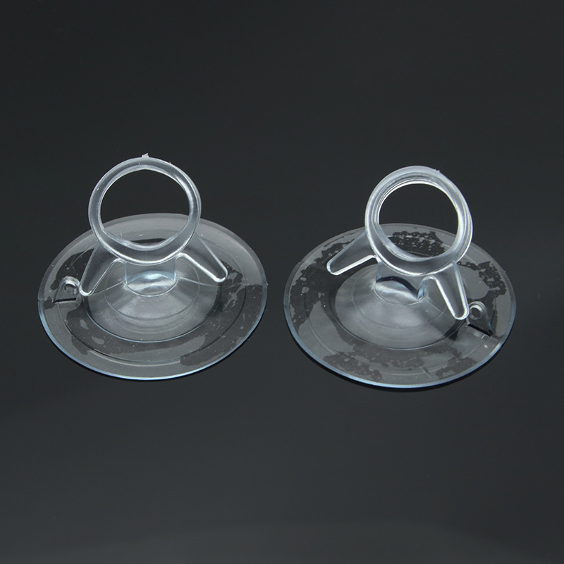 5pcs/pack 45mm Car Sunshade Sucker Suction Cups Wholesale High-end Transparent Mushroom Head Suckers Cup For Window Glass Tiles