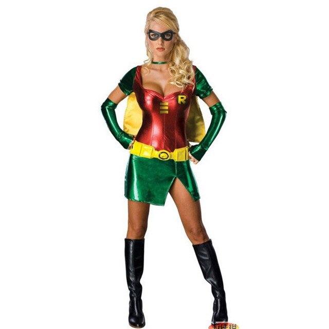 Superhero Kostüme der sexy Frauen