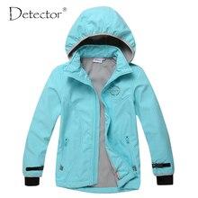 Detector big girl softshell jacket Bule Grey S-XL