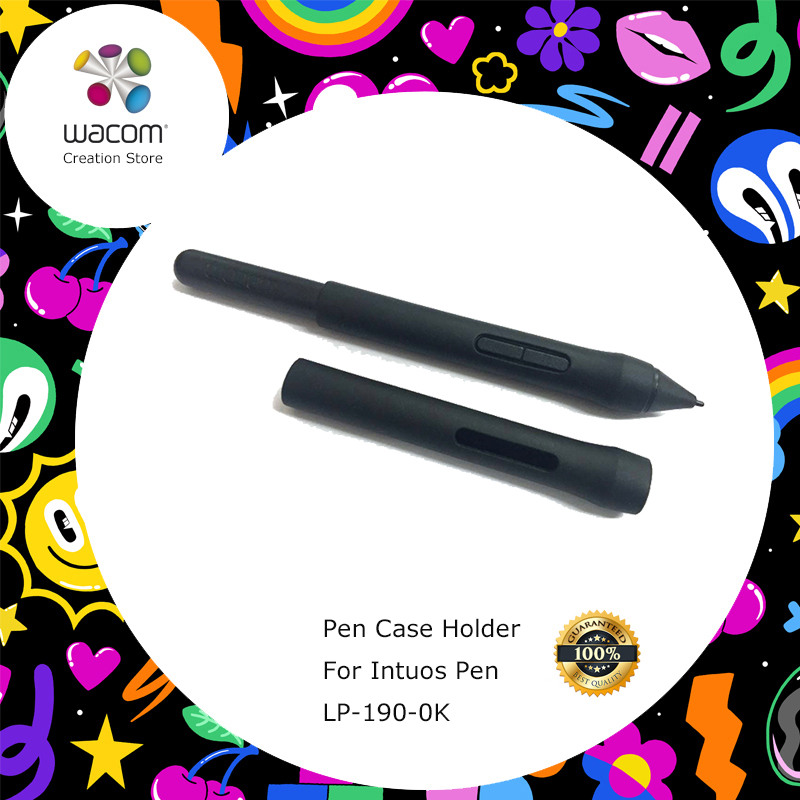 For Wacom Intuos Draw / Art / Comic / 3D / One by Wacom CTL-472 / 672 Grapic Tablets Pen Grip ( LP-190-0K)