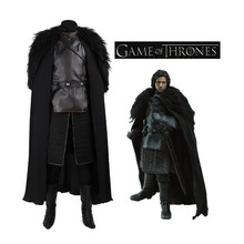 High quality Game of Thrones Costume Jon Snow Cosplay costumes