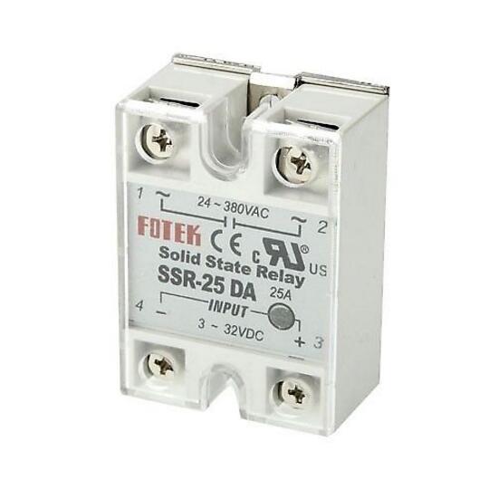 1 pcs SSR-25DA 25A 3-32V DC TO 24-380V AC SSR 25DA relay solid state Plastic Cover SSR-25DA solid state relay ssr 10da ssr 25da ssr 40da 10a 25a 40a actually 3 32v dc to 24 380v ac ssr 10da 25da 40da high quality new