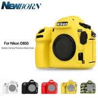 新しいソフトシリコーンゴム D850 カメラ保護ボディ用ニコン D850 デジタル一眼レフカメラバッグプロテクターカバー