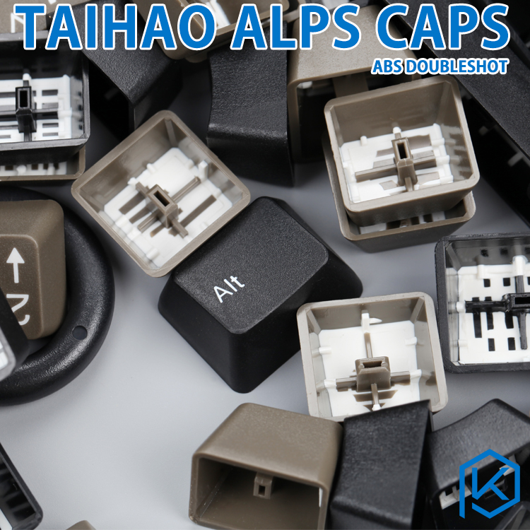 Taihao Alps Abs Double Shot Keycaps For Diy Gaming Mechanical Keyboard For Alps Switches Apc Matias Switches